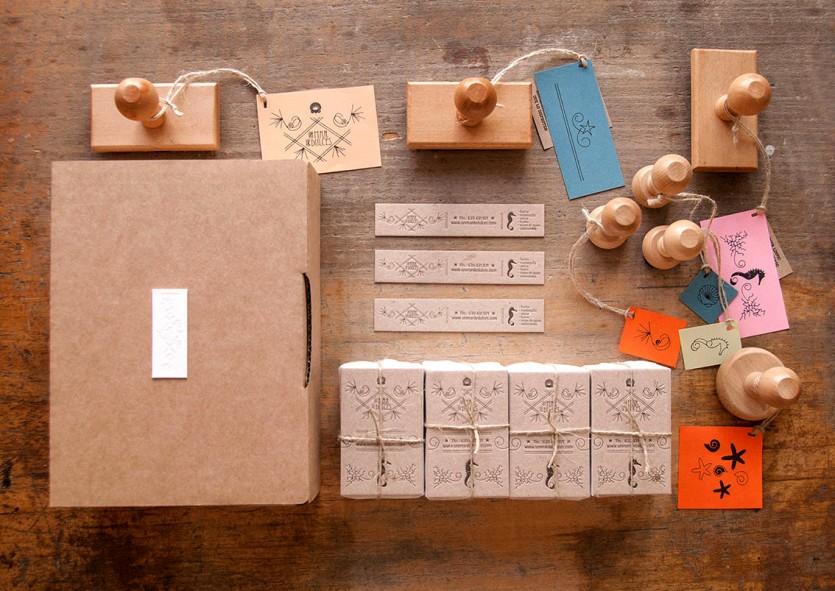 diseno-grafico-mar-dulces-logotipo-tarjeta-etiquetas-sellos