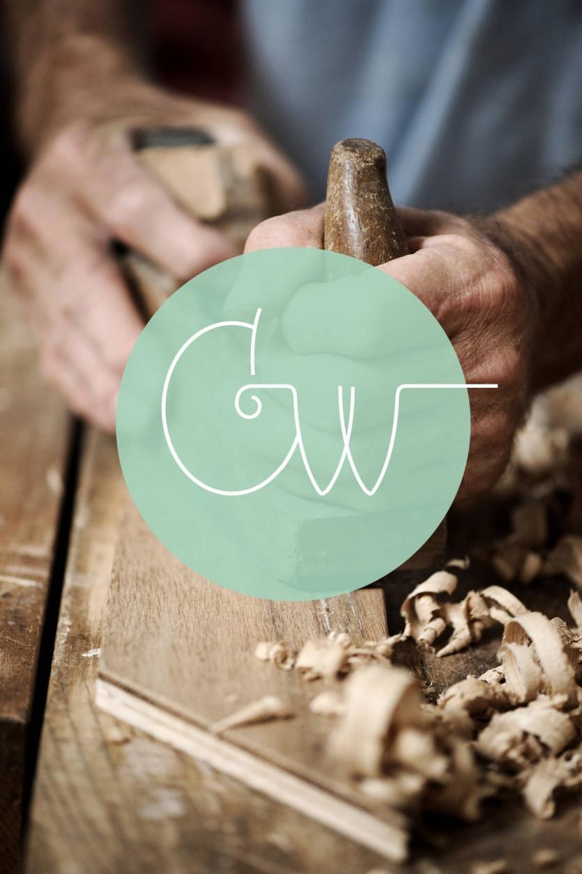 Identidad corporativa para el proyecto de artesanía Craftwerk