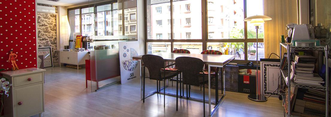 Instalaciones del estudio de diseño Lalolagráfica en Logroño