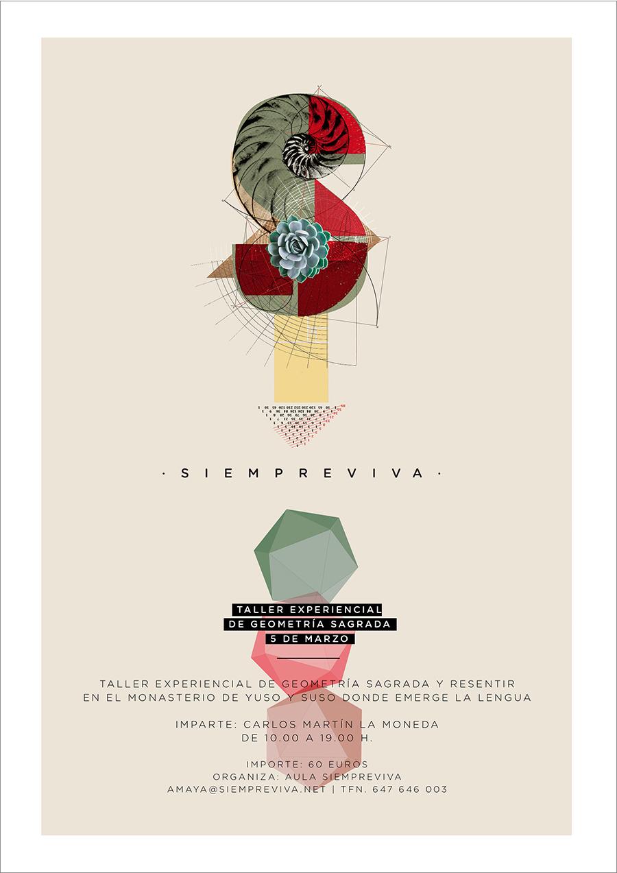 cartel-siempreviva-geometria